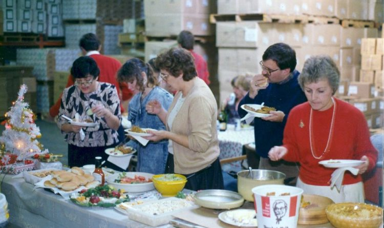 Shepherd luncheon 1980's