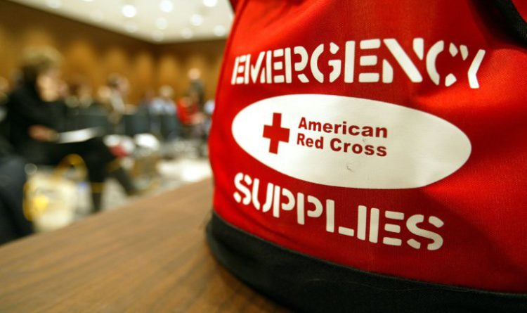 Red Cross Emergency Supplies